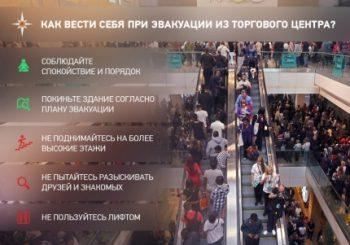 Правила поведения в торговом центре