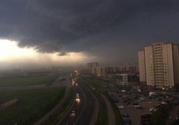 Информация об ухудшении погодных условий на территории Курской области на 23.06.2018